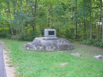 Second Massachusetts Infantry Monument image. Click for full size.
