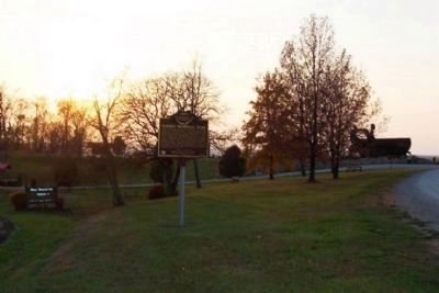 Miner's Memorial Park and Marker image. Click for full size.