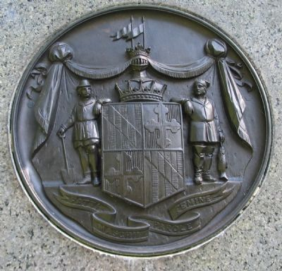 Close-up of Maryland Seal on Front image. Click for full size.