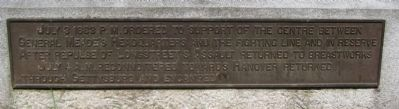 Plaque at Base of Monument image. Click for full size.