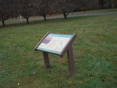 Marker at Washington Crossing State Park image. Click for full size.