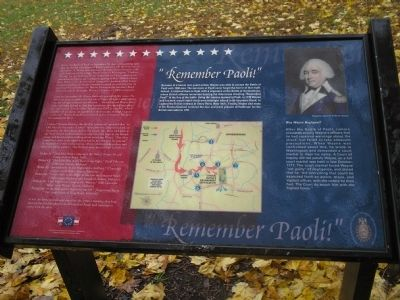 """Remember Paoli!"" Marker image. Click for full size."