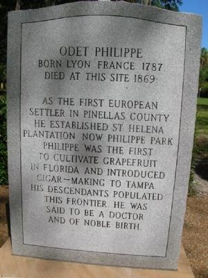 Odet Phillipe Marker Photo, Click for full size