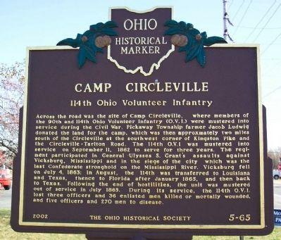 Camp Circleville Civil War
