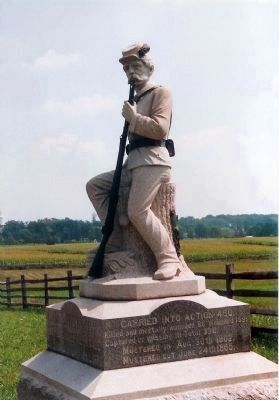 149th Pennsylvania Infantry Monument Photo, Click for full size