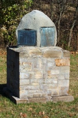 Capt. Michael Cresap and Present at Dunmore Treaty Markers image. Click for full size.
