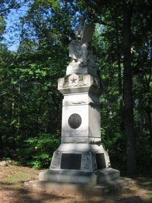123rd New York Infantry Monument image. Click for full size.