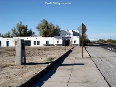 Death Valley Junction Marker image. Click for full size.