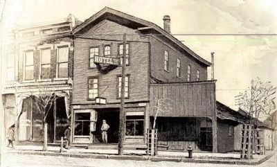 Lincoln / Lamon Law Office - - Barnum Building image. Click for full size.