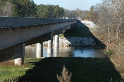 SC Highway 215 over the Broad River Photo, Click for full size