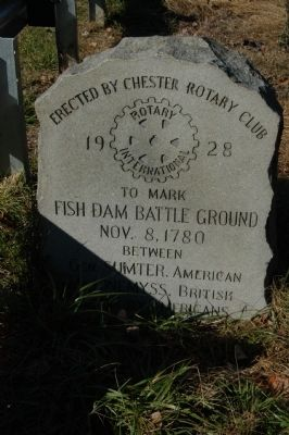 Fish Dam Battle Ground Marker image. Click for full size.