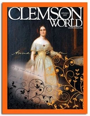 <i>Clemson World</i> Spring 2007 Issue Cover Photo, Click for full size