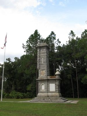 The Battle of Olustee Monument Photo, Click for full size