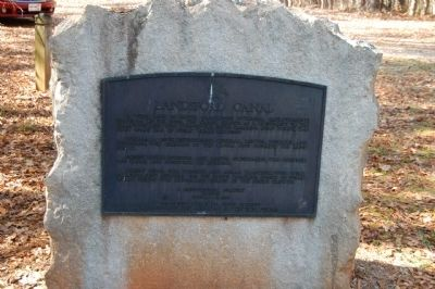 Landsford Canal Marker image. Click for full size.