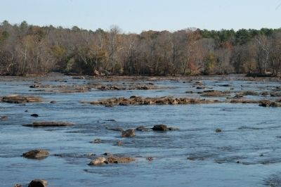 Rock y shoals on the Catawba River image. Click for full size.