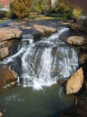 Reedy River Falls image. Click for full size.