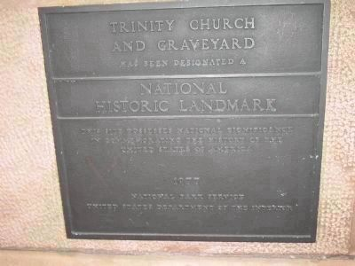 National Historic Landmark Marker image. Click for full size.