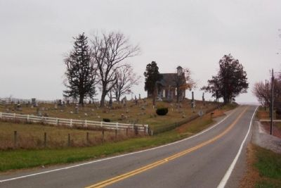 Mt. Tabor Church and Cemetery image. Click for full size.