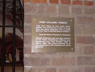 Prison Plaque Photo, Click for full size