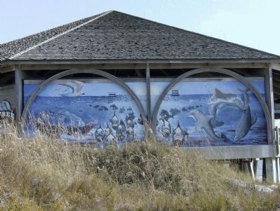 The Tybrisa Pavilion II Mural image. Click for full size.