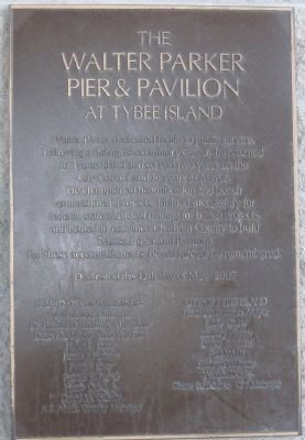 The Tybrisa Pavilion II Marker image. Click for full size.