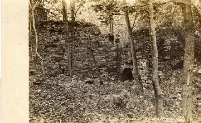 Photo of Union Iron Works (Now located under Spruce Run Resevoir 1912) Photo, Click for full size