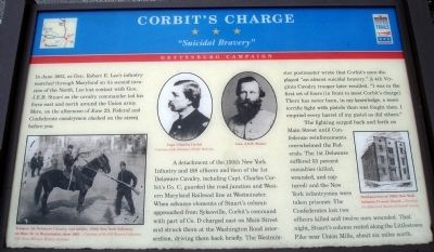 Corbit's Charge Marker Photo, Click for full size