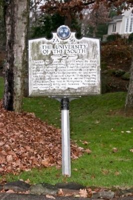 The University of The South Marker image. Click for full size.