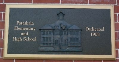 Pataskala Elementary and High School Marker image. Click for full size.