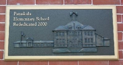 Pataskala Elementary School Rededication Marker image. Click for full size.