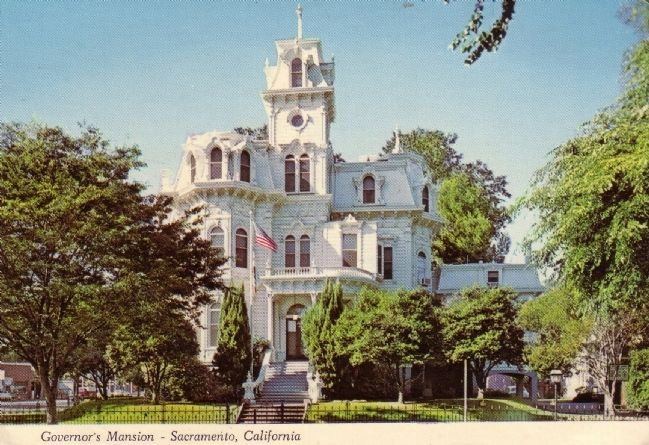 Governor�s Mansion - Sacramento, California image. Click for full size.
