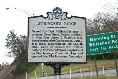 Stringer's Ridge Marker Photo, Click for full size