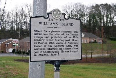 Williams' Island Marker image. Click for full size.