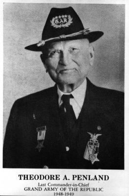 Theodore A. Penland<br>The Last Commander-in-Chief of the G.A.R. image. Click for full size.