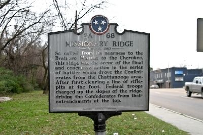 Missionary Rige Marker image. Click for full size.