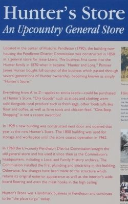 Hunter's Store Marker Photo, Click for full size