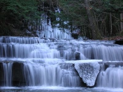 Christman Sanctuary Waterfalls image. Click for full size.