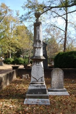 Barnard Elliott Bee / Clement H. Stevens Monument - St. Paul's Episcopal Church Cemetery Photo, Click for full size