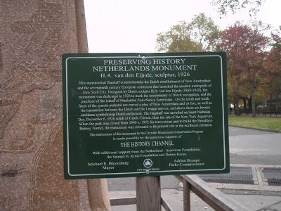 Netherlands Monument Marker image. Click for full size.