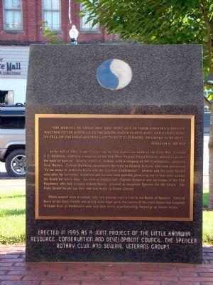 U. S. Civil War Marker image. Click for full size.