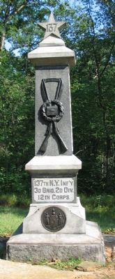 137th New York Infantry Monument image. Click for full size.