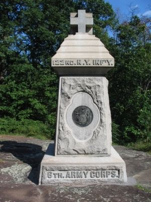 122nd New York Infantry Monument image. Click for full size.