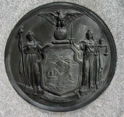 State Seal Disk on Front image. Click for full size.