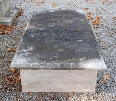 Anna Calhoun Clemson Tombstone Photo, Click for full size