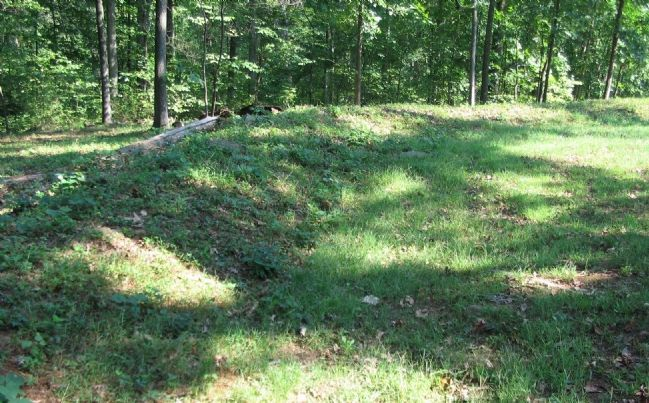 Another Section of the 149th's Breastworks image. Click for full size.