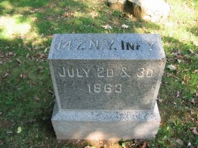 147th New York Infantry Position Marker image. Click for full size.