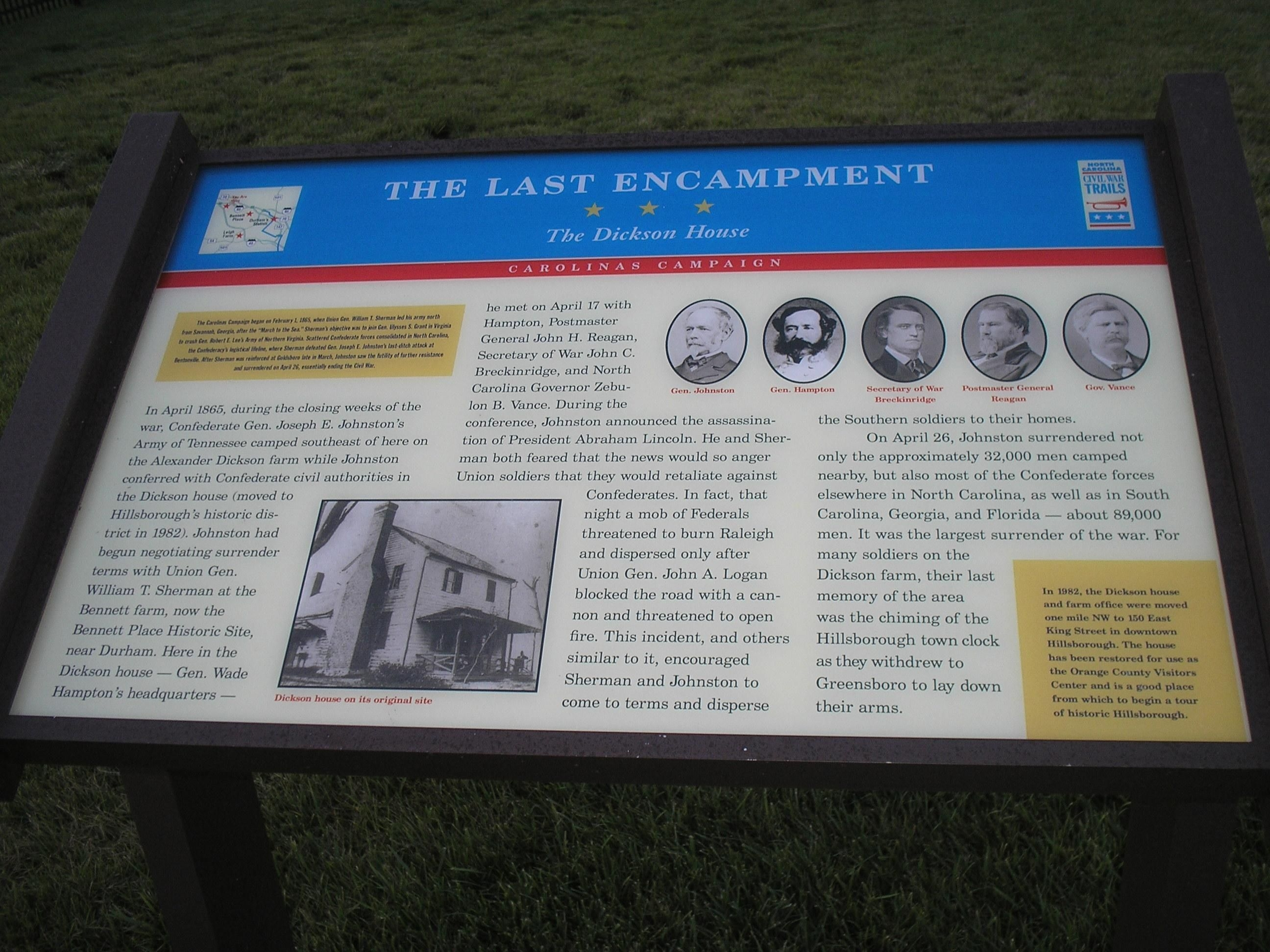 The Last Encampment Marker