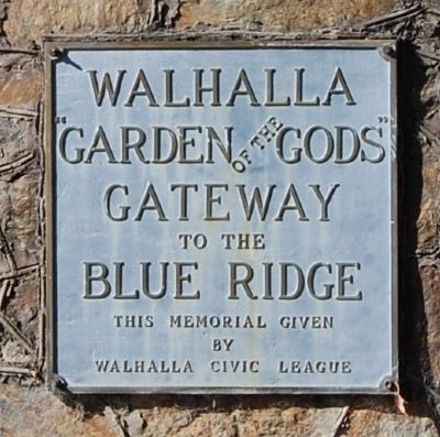Walhalla Marker image. Click for full size.