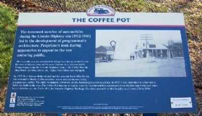 The Coffee Pot Marker image. Click for full size.