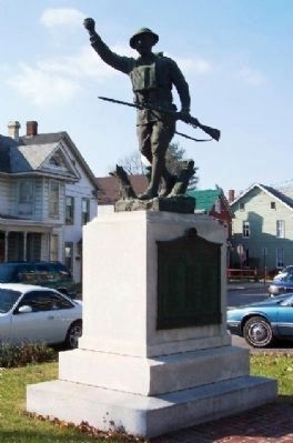 Franklin County World War I Memorial image. Click for full size.